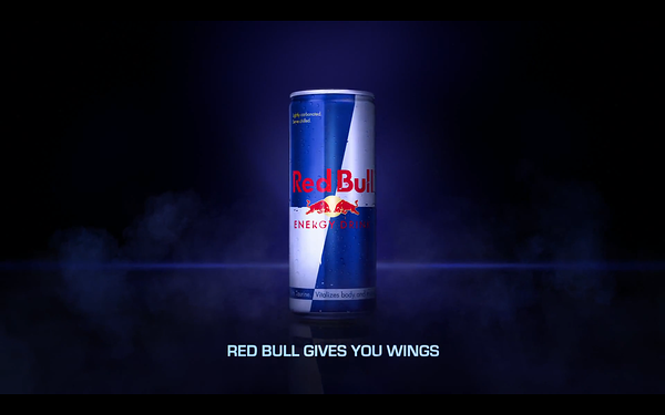 "A ""Red Bull Gives You Wings"" advert to emphasise the importance of metaphor and analogies in ad copy"